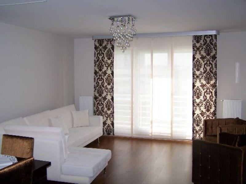 Японские шторы для гостиной фото